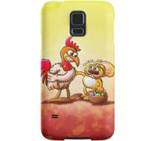 Easter Bunny in Trouble Samsung Galaxy Case/Skin