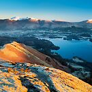 Catbells view, Lake District. by Justin Foulkes