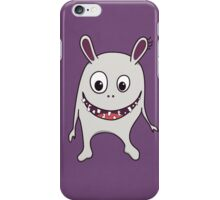 Funny Cracked Teeth Happy Monster Case iPhone Case/Skin