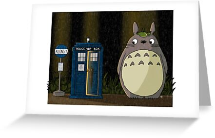 Allons-y Totoro ALTERNATE by mikaelaK