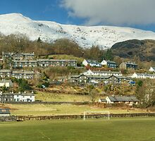 Coniston Village And Fells by VoluntaryRanger