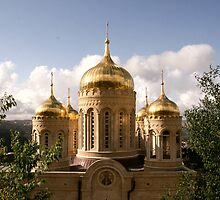 The Russian Church - Ein Karem, Jerusalem by Nira Dabush