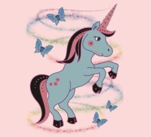Pretty Unicorn .. tee shirt by LoneAngel