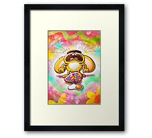 Desperate Easter Bunny Framed Print