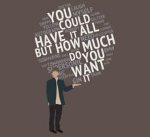 Oasis - You Could Have It All - lyrics quote - for darker backgrounds by ecchy
