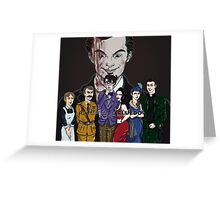 Cluedo Sherlock: The Only Possible Solution. Greeting Card