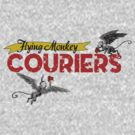 Wizard of Oz Inspired - Flying Monkey Courier Service - Flying Monkeys by traciv