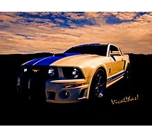 Mustang GT 500 Ready for Mustangs Across America Drive Photographic Print