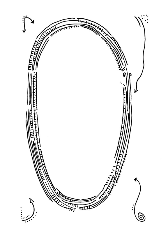 The letter O by handandi