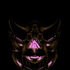 Curvilinear Project No. 108 (  Mask Of Hannibal ) by CurvilinearArt