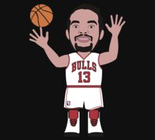NBAToon of Joakim Noah, player of Chicago Bulls by D4RK0