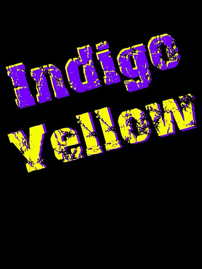 Indigo Yellow - Logo by mps2000