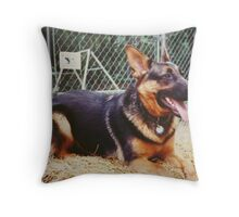 Gypsy, A German Shepherd  Throw Pillow