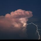 Bolt of Lightning by Mark Ingram Photography