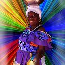 Cartagena Fruit Seller by Rosemary Sobiera