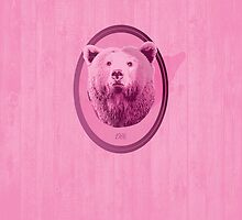 Hunting Series - The Pink Bear Head by thejoyker1986