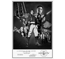 Serenity: The Alliance Strikes Back (black and white version) Photographic Print