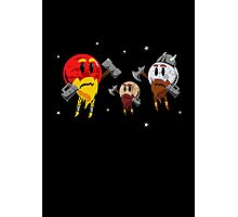 Red Dwarf, White Dwarf, Pluto the Dwarf Planet Photographic Print