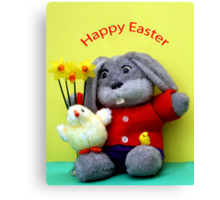 Easter Bunny! Canvas Print