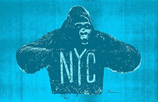 Gorilla NYC by Will Ruocco