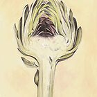 Artichoke II Print by cathy savels