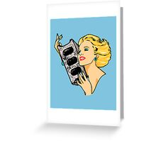 All Desires Turn To Concrete Greeting Card
