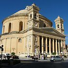 Malta The Mosta Dome Church by Joyce Knorz