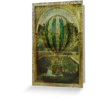 Hot Air Balloon Voyage Greeting Card