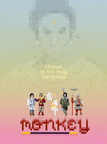 MONKEY MAGIC PIXEL by gregsted