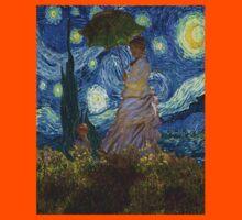 Monet Umbrella on a Starry Night Kids Clothes
