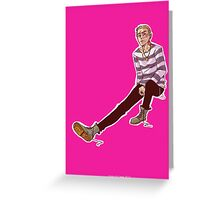 Punk!John Greeting Card