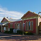 Railway Station, Tamworth, NSW, Australia by Margaret  Hyde