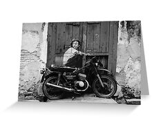 Graffiti Rider Greeting Card