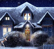 Quiet Winter Night by Tiffany Muff
