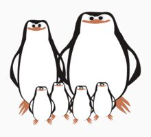 Penguin Family  Kids Clothes