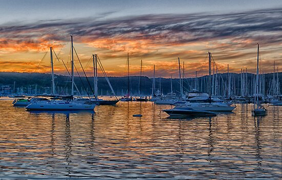 Safe Harbour - Newport , Sydney Australia - The HDR Experience by Philip Johnson