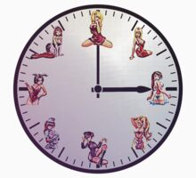 Sexy Girls Clock5 by Miraart