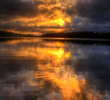 Daybreak - Narrabeen Lakes Sydney Australia  - The HDR Experience by Philip Johnson