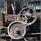 Rusty Cogwheels on Cockatoo Island by Wolf Sverak