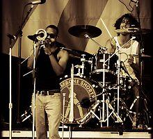 Trombone Shorty by Mick Yates