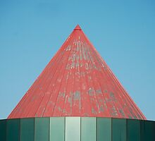 Red Metal Roof by jojobob