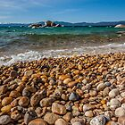 At Whale Beach - Lake Tahoe by Richard Thelen