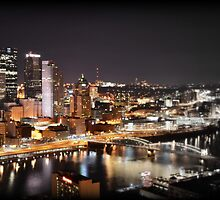 Greetings from Mt Washington, Pittsburgh, Pennsylvania by Robert Plummer
