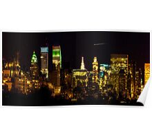 The East Side at Night Poster