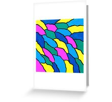 THE COLOR WAVE Greeting Card
