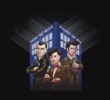 The Doctors Three by Mike Rieger