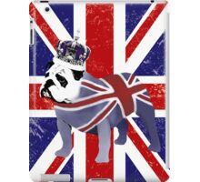 English Bulldog and Crown iPad Case/Skin