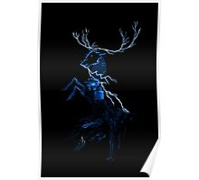 Ours is the Fury (blue) Poster