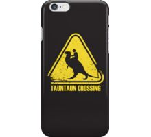 Beware! Tauntaun Crossing! iPhone Case/Skin