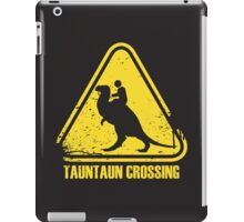 Beware! Tauntaun Crossing! iPad Case/Skin
